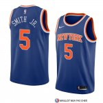 Maillot New York Knicks Dennis Smith Jr. Icon 2018 Bleu