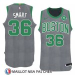 Maillot Noel 2018 Boston Celtics Marcus Smart No 36 Vert