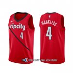 Maillot Portland Trail Blazers Maurice Harkless Earned Rouge