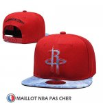 Casquette Houston Rockets Snapback Rouge