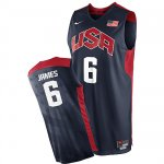 Maillot de James USA NBA 2012 Noir