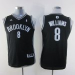 Maillot Enfant de Noir Williams Brooklyn Nets Revolution 30