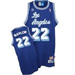 Maillot Retro Lakers Baylor 22 Bleu