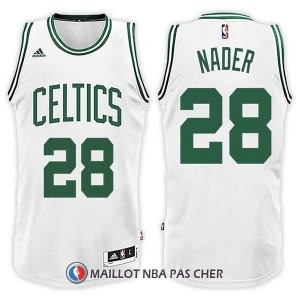 Maillot Boston Celtics Abdel Nader Home 28 2017-18 Blanc