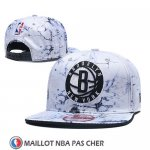 Casquette Brooklyn Nets 9FIFTY Snapback Blanc