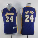 Maillot Enfant Pourpre Bryant Los Angeles Lakers Revolution 30