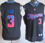 Maillot Paul Los Angeles Clippers #3 Noir