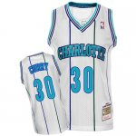 Maillot Retro Hornets Curry 30 Blanc