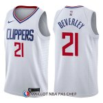 Maillot Los Angeles Clippers Patrick Beverley Association 21 2017-18 Blanc