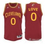 Maillot Rouge Love Cleveland Cavaliers Revolution 30