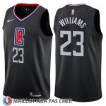 Maillot Los Angeles Clippers Lou Williams No 23 Statement 2018-19 Noir