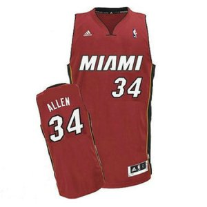 Maillot Rouge Allen Miami Heat Revolution 30