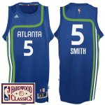 Maillot Retro Hawks Smith 5 Bleu