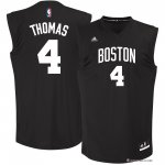 Maillot Mode Noir Boston Celtics Thomas 4 Noir