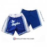 Short Los Angeles Lakers Retro Bleu