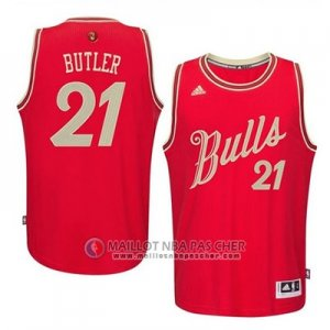 Maillot Butler Chicago Bulls No?l #21 Rouge