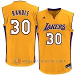 Maillot Los Angeles Lakers Randle #30 Jaune