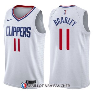 Maillot Los Angeles Clippers Avery Bradley Association 11 2017-18 Blanc