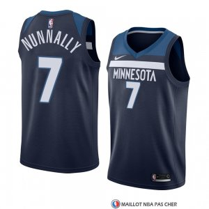Maillot Minnesota Timberwolves James Nunnally Icon 2017-18 Bleu