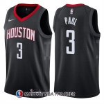 Maillot Houston Rockets Chris Paul Statement 2017-18 3 Noir