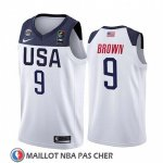 Maillot USA Jaylen Brown 2019 FIBA Basketball World Cup Blanc