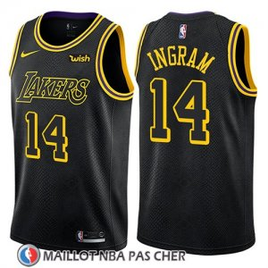 Maillot Los Angeles Lakers Brandon Ingram Ciudad 2018 Noir