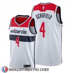 Maillot Washington Wizards Admiral Schofield Association 2019-20 Blanc