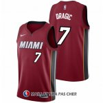 Maillot Authentique Miami Heat Dragic 2017-18 7 Rouge