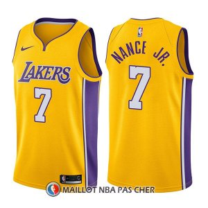 Maillot Los Angeles Lakers Larry Nance Jr. Icon 7 2017-18 Or