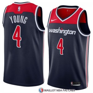Maillot Washington Wizards Mike Young Statement 2018 Noir