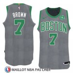 Maillot Noel 2018 Boston Celtics Jaylen Brown No 7 Vert