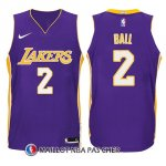 Maillot Enfant Los Angeles Lakers Lonzo Ball Statement 2017-18 2 Volet