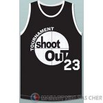 Maillot Pelicula Shoot Out Motaw #23 Noir