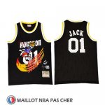 Maillot Houston Rockets X Cactus Jack Noir