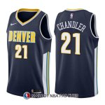 Maillot Denver Nuggets Wilson Chandler Icon 21 2017-18 Bleu