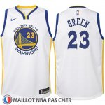 Maillot Enfant Golden State Warriors Draymond Green No 23 2017-18 Blanc