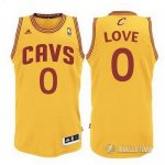 Maillot Orangee Love Cleveland Cavaliers Revolution 30