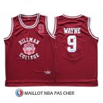 Maillot Pelicula Hillman College Wayne 9 Rouge