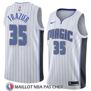 Maillot Orlando Magic Melvin Frazier No 35 Association 2018 Blanc