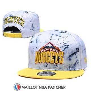 Casquette Denver Nuggets 9FIFTY Snapback Blanc