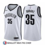 Maillot Brooklyn Nets Kevin Durant Association 2019-20 Blanc