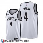 Maillot Brooklyn Nets Jaylen Hands Association 2019-20 Blanc