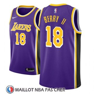 Maillot Los Angeles Lakers Joel Berry Ii Statement 2018-19 Volet
