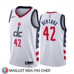 Maillot Washington Wizards Davis Bertans Ville Edition Blanc