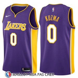 Maillot Los Angeles Lakers Kyle Kuzma No 0 Statement 2018 Volet