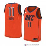 Maillot Oklahoma City Thunder Abdel Nader Earned 2018-19 Orange