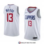 Maillot Los Angeles Clippers Jamil Wilson Association 2018 Blanc