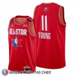 Maillot All Star 2020 Atlanta Hawks Trae Young Rouge