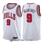 Maillot Chicago Bulls Antonio Blakeney Association 9 2017-18 Blanc