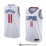 Maillot Los Angeles Clippers Brice Johnson Association 2018 Blanc